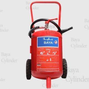 کپسول آتش نشانی پودر و گاز 25kg