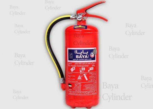 کپسول آتش نشانی پودر و گاز 3kg