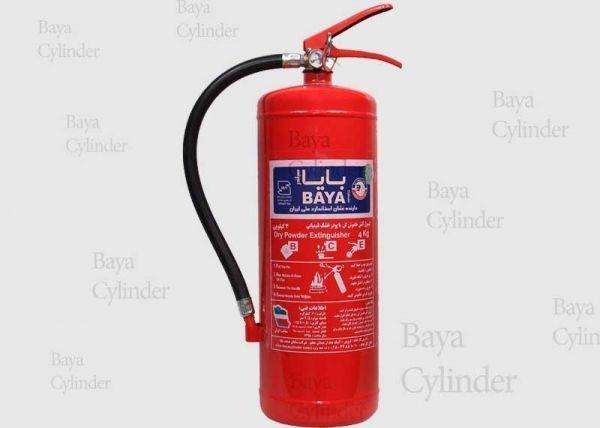 کپسول آتش نشانی پودر و گاز 4kg