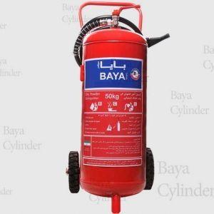 کپسول آتش نشانی پودر و گاز 50kg