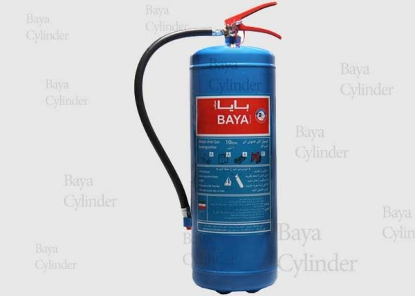 کپسول آتش نشانی آب و گاز10 لیتری